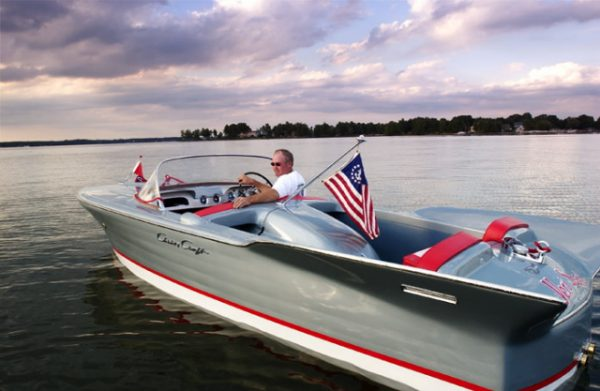 1958 Chris Craft Silver Arrow restored by Crusse'n Classics